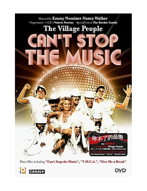 Can't Stop the Music (VCD)