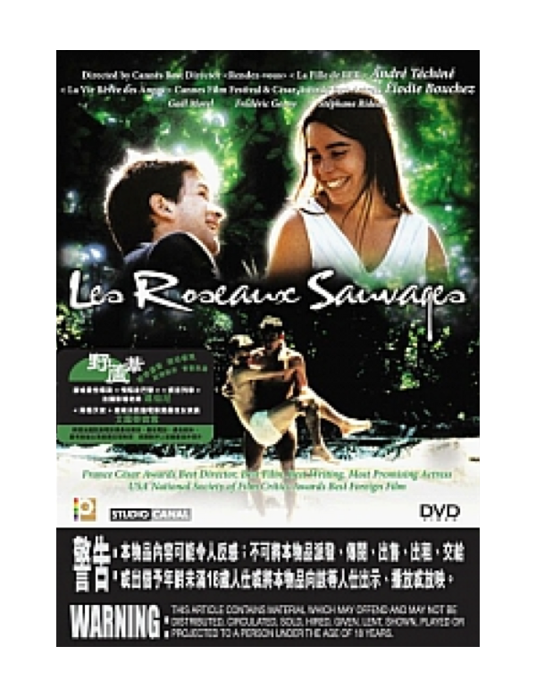 Les Roseaux Sauvages aka The Wild Reeds (DVD)