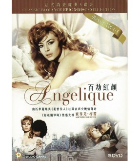 Classic Romance Epic 5 Disc Collection- Angelique (DVD)