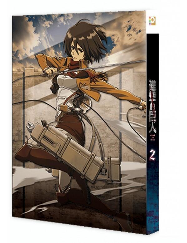 Attack on Titan Vol. 2 (Special Edition) (Blu-ray)