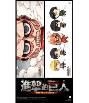 Attack on Titan Vol. 4 (Special Edition) (Blu-ray)