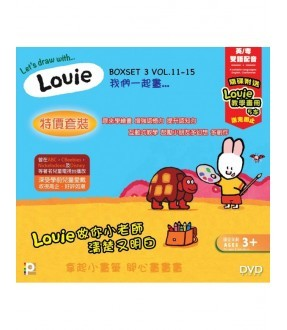 Louie Boxset 3 (Epi.79-117) (DVD)