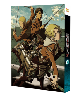 Attack on Titan Vol. 6 (Special Edition) (Blu-ray)