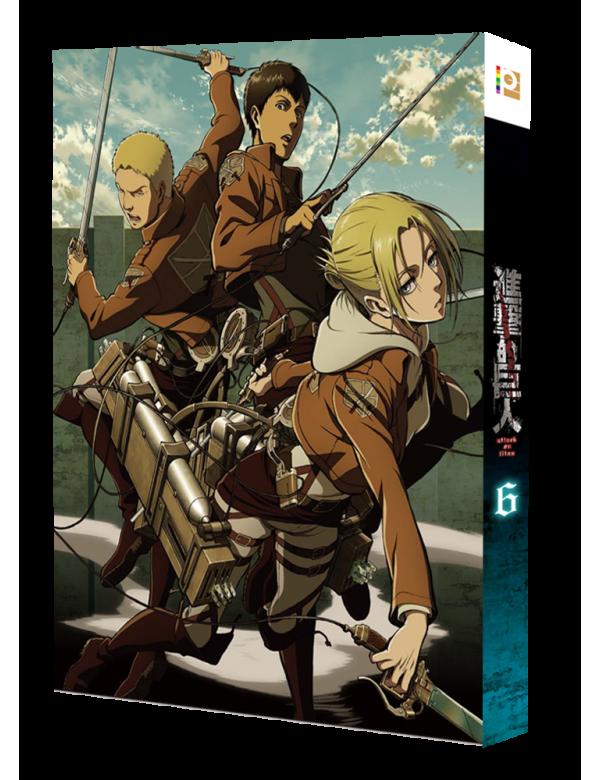 Attack on Titan Vol. 6 (Special Edition) (Blu-ray)