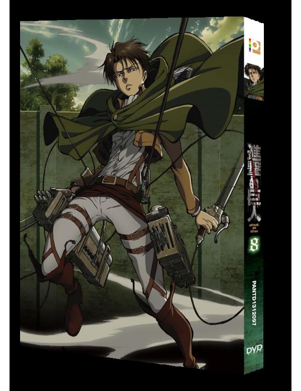 Attack on Titan Vol. 8 (Special Edition) (DVD)