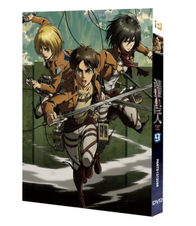 Attack on Titan Vol. 9 (Special Edition) (Blu-ray)
