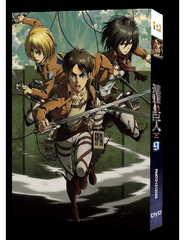 Attack on Titan Vol. 9 (Special Edition) (Blu-ray)