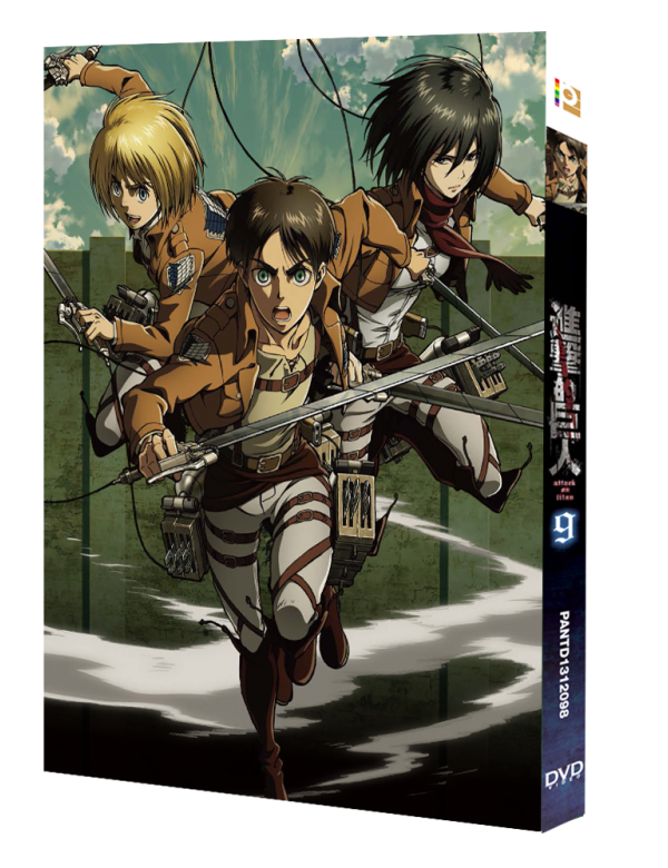 Attack on Titan Vol. 9 (Special Edition) (DVD)