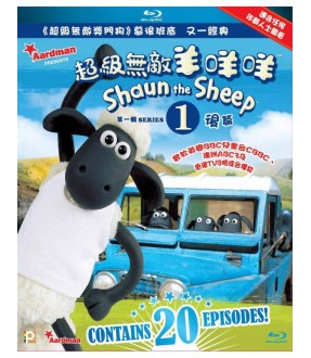 Shaun the Sheep Series 1 Vol.III & IV (Blu-ray)