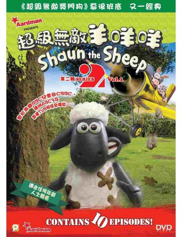 Shaun the Sheep Series 2 Vol.1 (DVD)