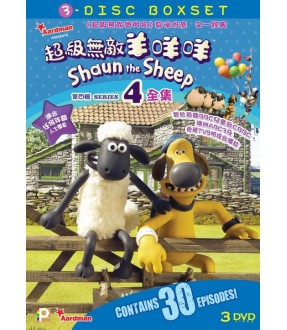 Shaun the Sheep Series 4 Boxset (3DVD)