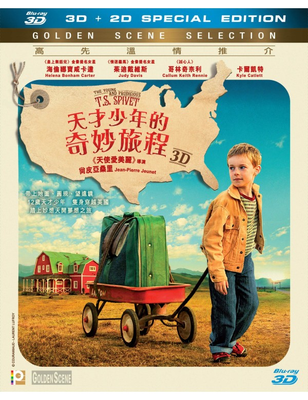 The Young and Prodigious T.S. Spivet (2D+3D Blu-ray)