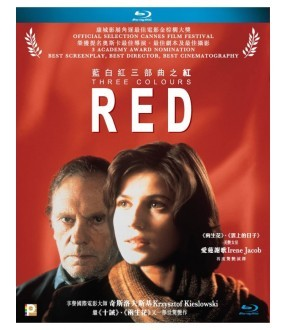 Three Colours Red (Blu-ray)