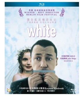 Three Colours White (Blu-ray)