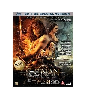 Conan the Barbarian3D (2D+3D) (Blu-ray)