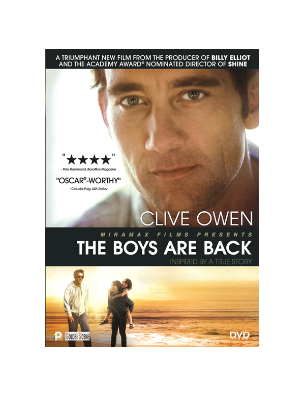 THE BOYS ARE BACK (DVD)