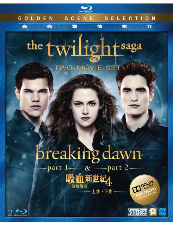 The Twilight Saga: The Breaking Dawn–Part 1 + 2 Two-Movie Set (Blu-ray)